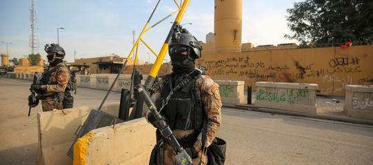 iraq baghdad razzi ambasciata usa