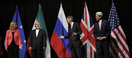 Iran punti accordo nucleare uscita