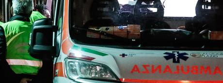 Camion precipitato cavalcavia Puglia