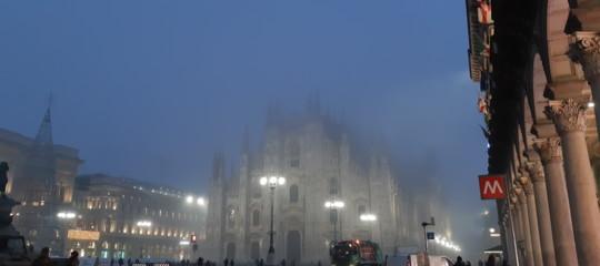milano Smog nebbia madonnina scomparsa