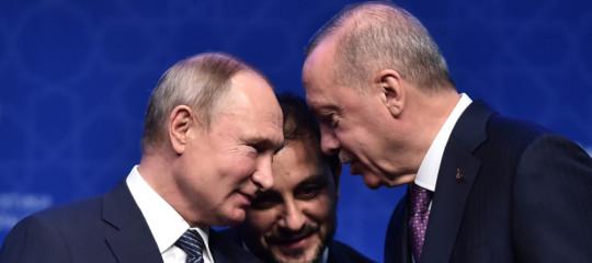 putin erdogan libia siria