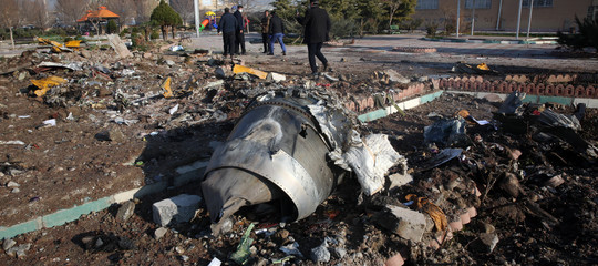 iran missile abbatte aereo ucraino