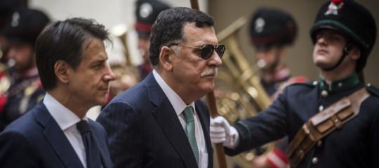 guerra libia conte vede serraj haftar