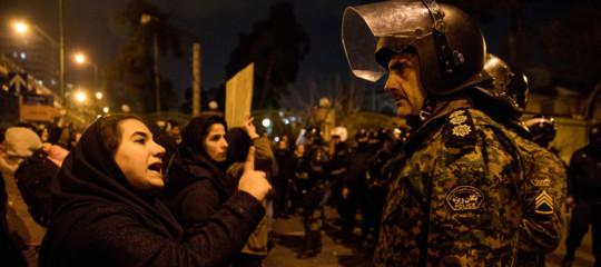 manifestazioni iran teheran