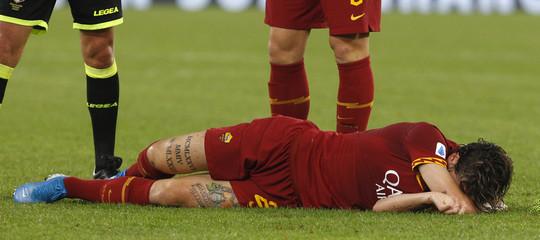 Calcio infortuni crociato zaniolo