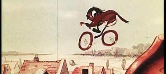 hansi canarino cartone animato nazista