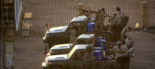 rivolta militari sudan riforma apparato sicurezza