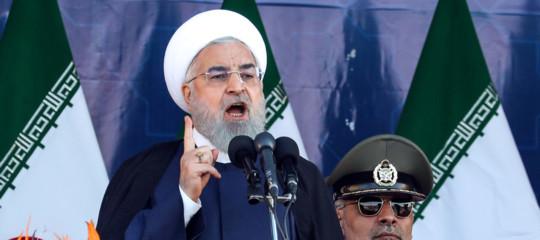 Iran Rohaniesercito scuse aereo abbattuto boeing