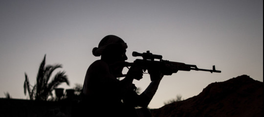 mercenari siraini libia serraj