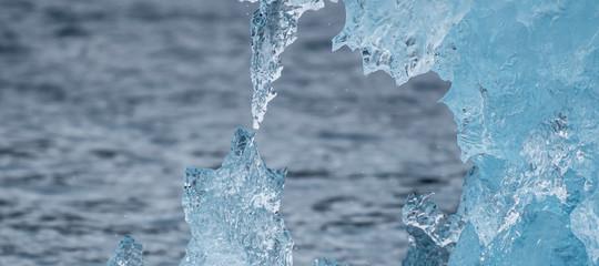scioglimento ghiacci virus