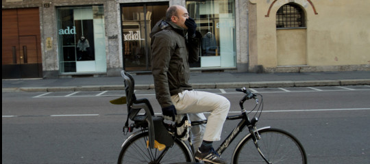 smog bici jogging