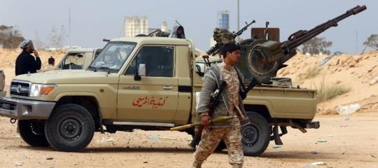 cronologia storia guerra civile libia