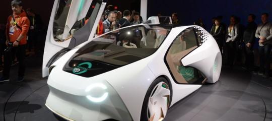guida autonoma auto elettrica cav