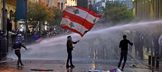 Libano scontri Beirut