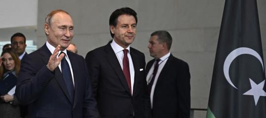 conferenza Libia Italia soddisfatta