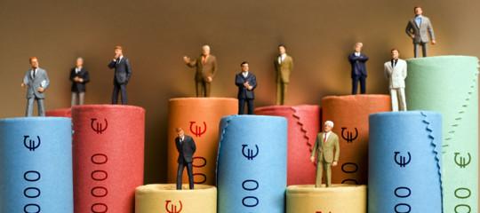 DavosOxfam paperoni ricchezza italia