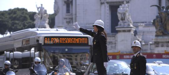 Traffico Roma ore auto