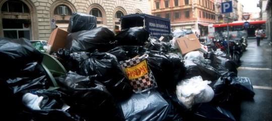 crisi rifiuti romaimpianti