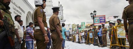 """Alcune vittime della """"Pasqua di Sangue"""" in Sri Lanka"""