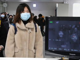 Virus Cina:termoscannera Fiumicino per 200 arrivati daWuhan