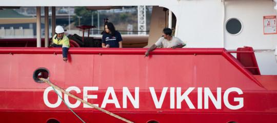 Migranti Ocean Vikingsoccorso