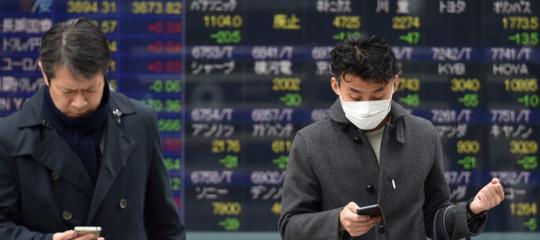 andamento mercati virus cinese brexit