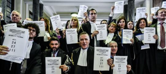 davigo prescrizione protesta avvocati bonafede