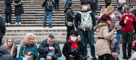 turisti cinesi virus romaalbergo