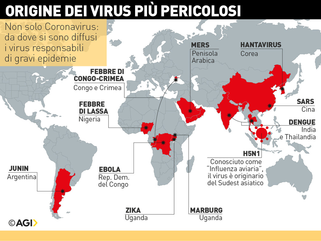 virus aviaria come si trasmette