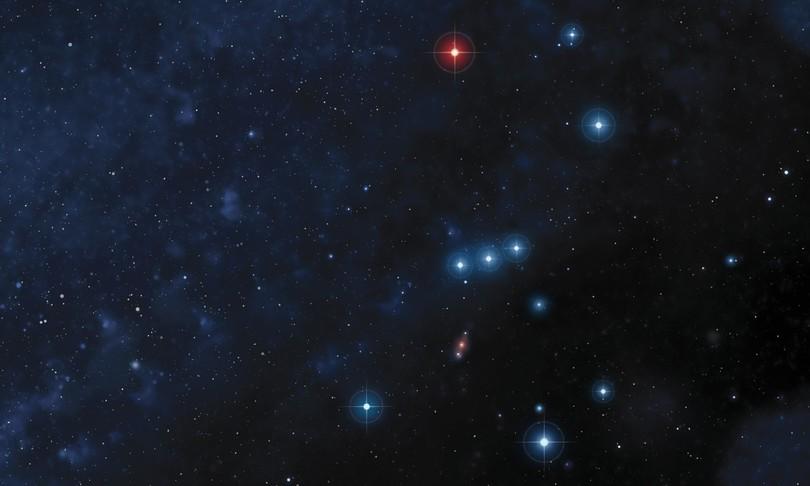 Betelgeuse stella che si spegne