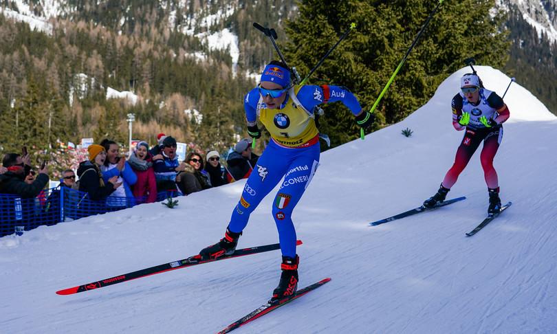 wierer mondiale biathlon inseguimento oro