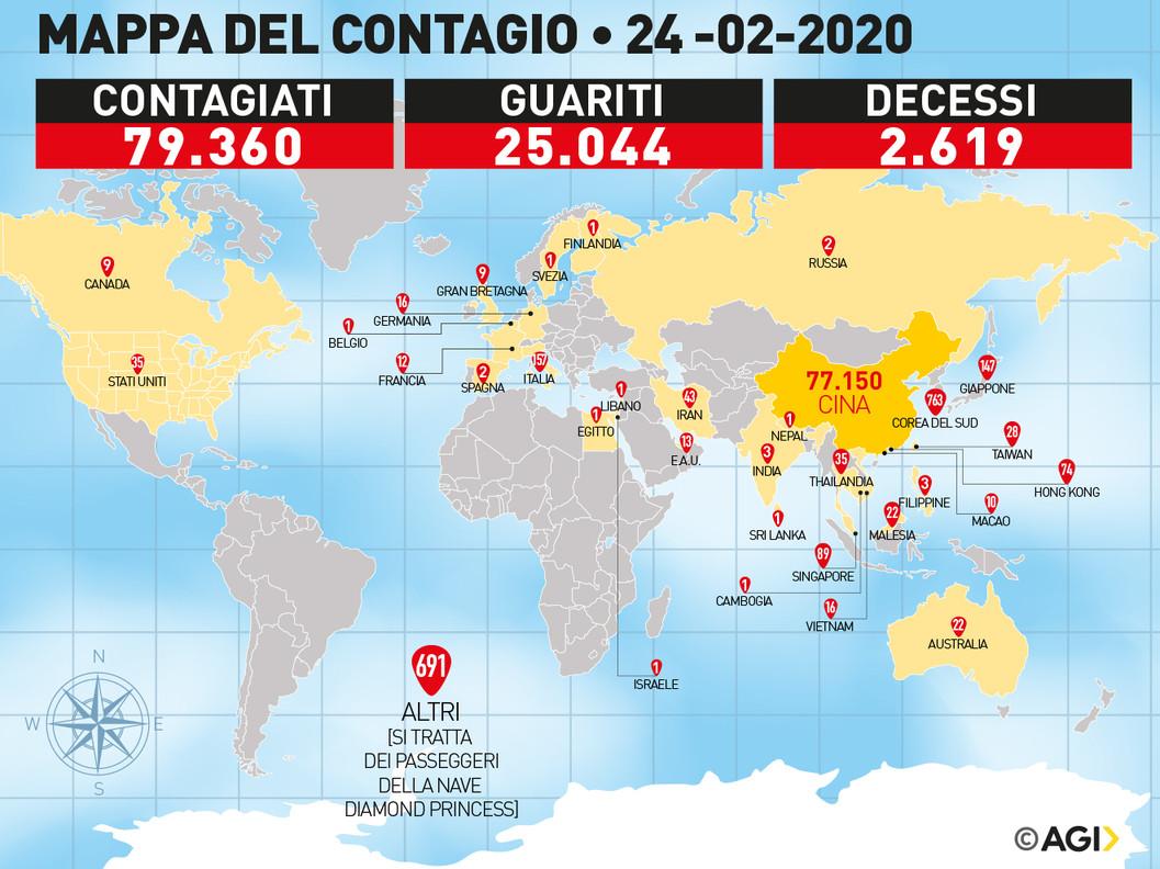 Quarta vittima a Bergamo: è un uomo di 84 anni. In Italia 15