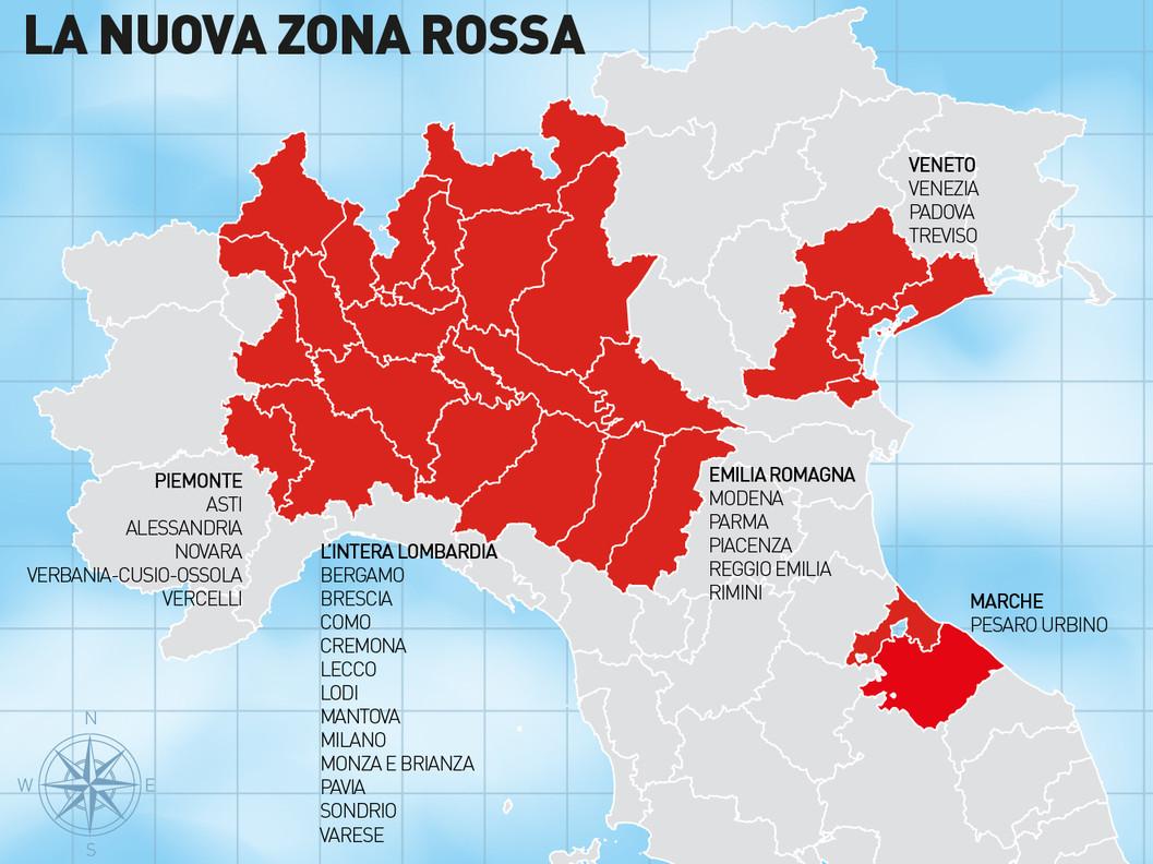 Cosa succede ora in Lombardia e in 14 province chiuse per decreto