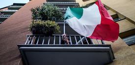 La libertà e il patriottismo dei balconi tricolori