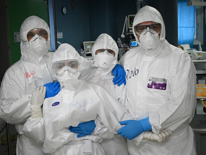 I morti per coronavirus dall'inizio dell'epidemia sono 24.114: i casi totali in Italia salgono a quota 181.228