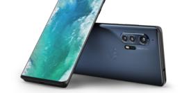 Motorola Edge, un display che più curvo non si può