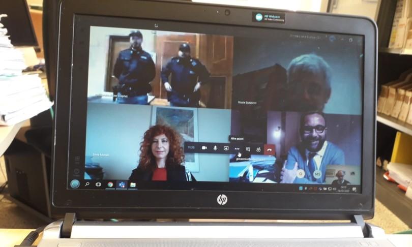 coronavirus processo penale teams online