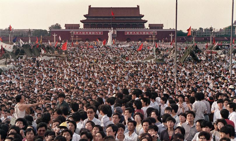 Hong Kong Tiananmen Cina