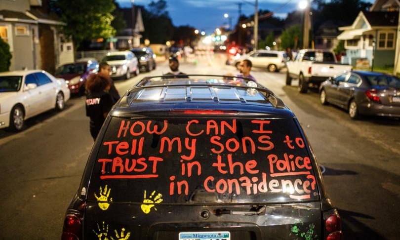 Floyd proteste Minneapolissmantellare polizia