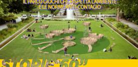 Il parco giochi che rispetta l'ambiente e le norme anti-contagio