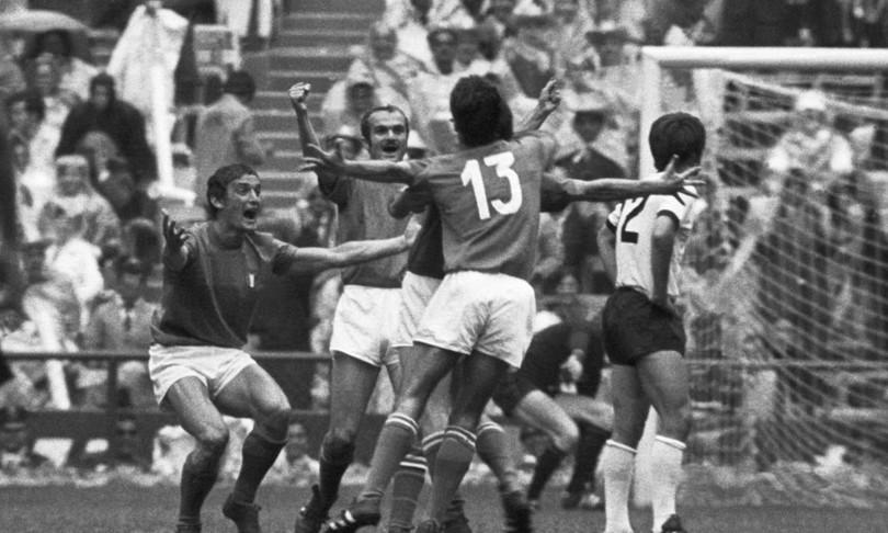 rivera brera partita secolo italia germania 1970