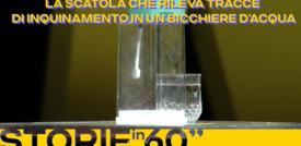 La scatola che rileva tracce di inquinamento in un bicchiere d'acqua