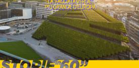 """La """"facciata verde"""" più grande d'Europa"""