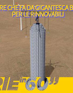La torre che fa da gigantesca batteria per le rinnovabili