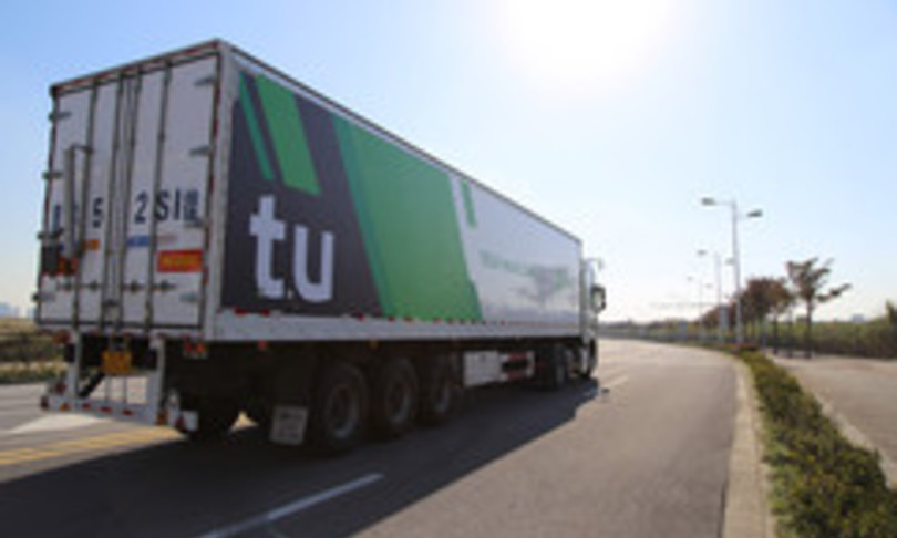 camion guida autonomo senza conducente