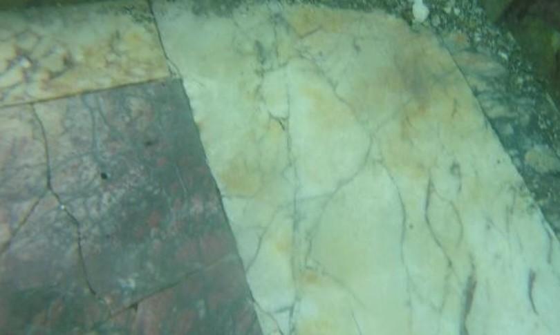parco sommerso baia pozzuoli nuovo mosaico
