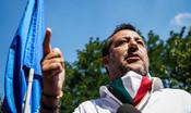 """""""Mai con Pd e M5S, la gente non è stufa di me"""", dice Salvini"""