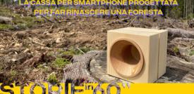 La cassa per smartphone progettata per far rinascere una foresta