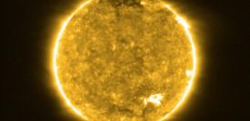 Le prime immagini del Sole della Solar Orbiter