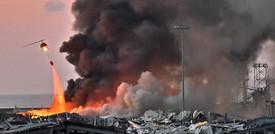 Le foto dell'esplosione a Beirut